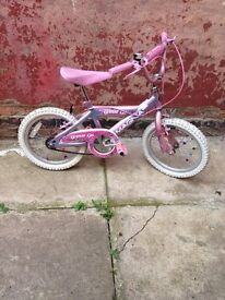 6-9 years old girls bike