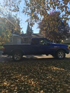 2003 Ford Ranger 4x4 C/W studded winters on rims Prince George British Columbia image 6