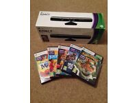 Xbox 360 Kinect sensors with 5 games