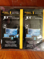 Antec 3X Strength Screen Cleaning Wipes 20 pack