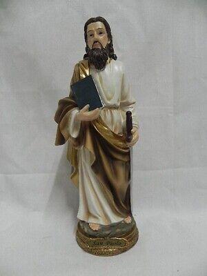Paul Apostle San Paolo, Jesus, Religious Statue Polyresin 31 cm, New