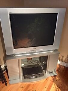 Tv and stand  Peterborough Peterborough Area image 1