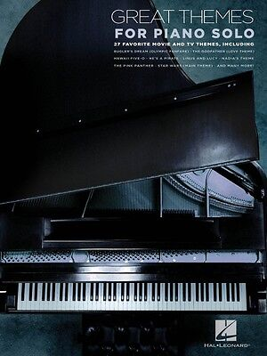 Great Themes for Piano Solo Sheet Music 27 Movie and TV Themes Piano S 000312102