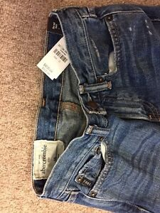 ABERCROMBIE boy jeans size 10, new with tags Cambridge Kitchener Area image 2