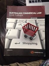 Australian Commercial Law (27th Edition) Forestville Warringah Area Preview