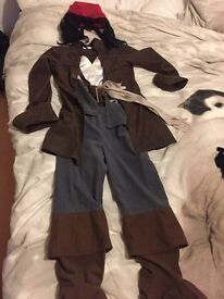 Jack sparrow dressing up outfit