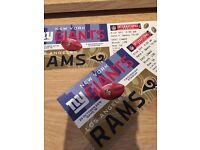NFL International Series - New York Giants vs. LA Rams Twickenham Stadium, London