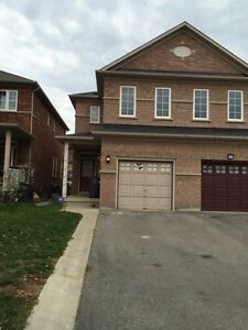Beautiful family rental in Brampton