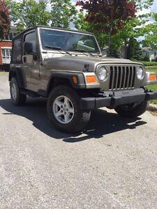 Jeep TJ sport 2004