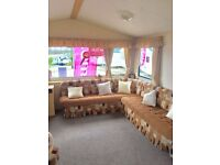 3 bedrooms, pull out bed & 12 foot wide caravan at Wemyss Bay Holiday Park