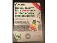 Free boiler and free loft insulation
