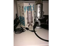 Blue Yeti Mic + Mic Stand & A Pop Filter