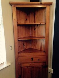 Wooden Corner Unit - Can Deliver