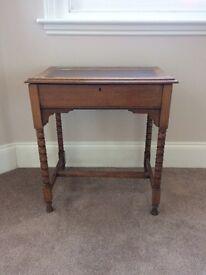 Mid Victorian writing desk