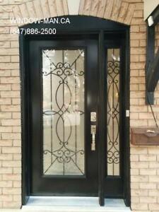Entrance Window Front Side Door  modern or traditional Design