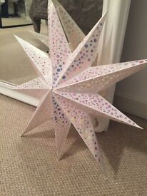 Large Star ceiling light shade