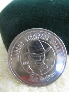 "COLLECTIBLE COIN of INTEREST...""CALGARY STAMPEDE DOLLAR [05-'73]"