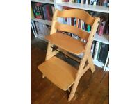 Tripp-trapp style children's high chair