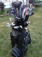 LADIES Complete High Quality Callaway Golf Clubs Set