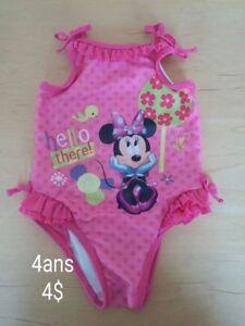 *maillot de bain pour fille 4 ans*