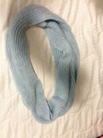 Light Blue infinity accessory scarf