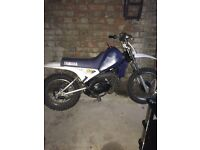 Yamaha pw80 kids field bike