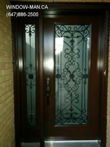 Front Entrance Door Side Window  Custom