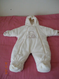 Snow suit for Baby infant size 6 months