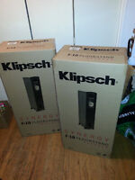Pair of Klipsch Synergy F-10 Floorstand Speakers