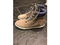 Boys uk size 3.5 timberland height top boots
