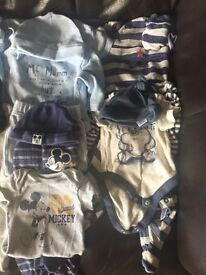 MASSIVE BUNDLE OF BABY BOYS FIRST SIZE CLOTHES