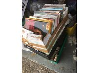 Job lot of LPs & 45s- Records 300+