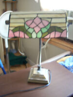 stain glass lamp asking 35