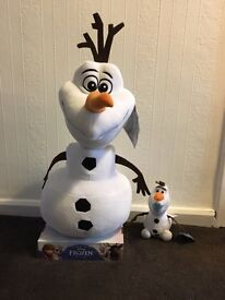 Frozen Olaf Teddies and Poster