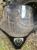 Yamaha Grizzly Windshield