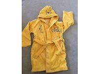 Kid's dressing gown - 5-6 years okf