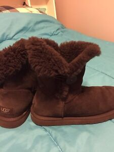 UGG brown boots size 10 Peterborough Peterborough Area image 1