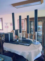 Sony Stereo system with DVD Player and seperate Blu-ray Player