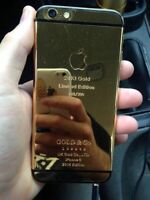 Iphone 6 limited edition gold Videotron