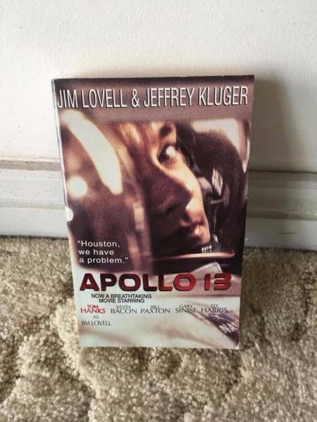 Apollo 13 book by Jim Lovell | Fiction Books | Gumtree
