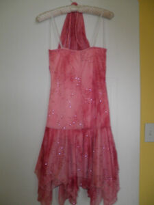 Womens pink sparkly size small dress London Ontario image 2