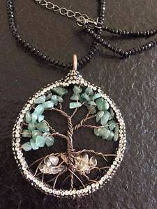 Semi-precious Gemstone With Chain- The tree of life Rouse Hill The Hills District Preview