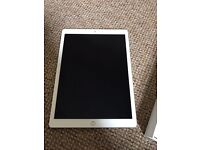 "Silver IPad Pro 128GB 12.9"" 4G Factory Unlocked"