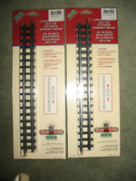 """LEMAX – VILLAGE TRAIN SYSTEM """"TRACKS"""" –PACKAGE OF (2)  12 IN. TR"""