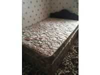 Double divan bed and mattress. FREE DELIVERY IN BELFAST!