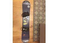 Beginner Snowboard (156 cm) and Bindings (L)