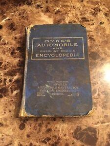 1918 Dykes Automobile & Gas Engine Encyclopedia