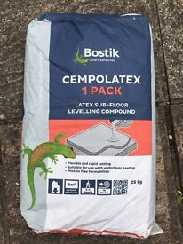 Latex Bostik cempolatex floor levelling compound