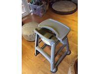 Rubber maid high chair