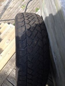 SNOW TRACKER TIRES set of 4, 130.00